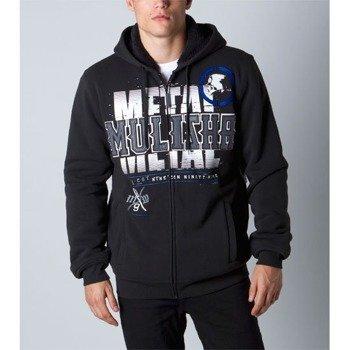 bluza ocieplana z kapturem METAL MULISHA - DESPISE czarna