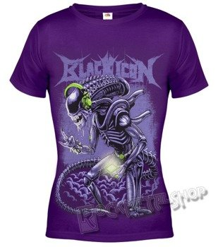 bluzka damska BLACK ICON - ALIEN (DICON132 VIOLET)