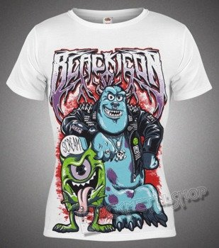 bluzka damska BLACK ICON - MONSTER INC (DICON136 WHITE)