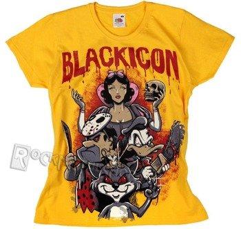 bluzka damska BLACK ICON - NIGHTMARE (DICON122 YELLOW)