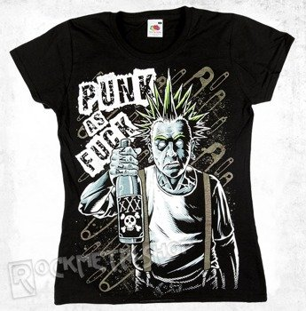 bluzka damska BLACK ICON - OLD PUNK (DICON027 BLACK)