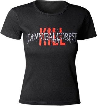 bluzka damska CANNIBAL CORPSE - KILL LOGO