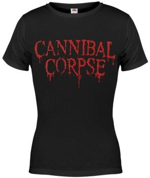 bluzka damska CANNIBAL CORPSE - NEW RED LOGO