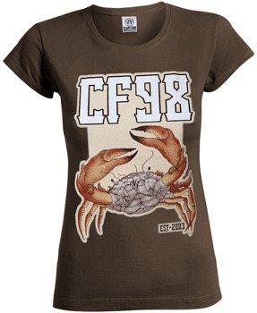 bluzka damska CF98 - NIC DO STRACENIA brown