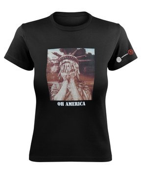 bluzka damska CRASS - OH AMERICA GIRLIE