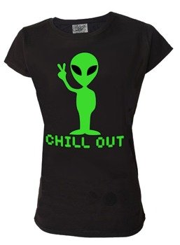 bluzka damska DARKSIDE - ALIEN CHILL OUT