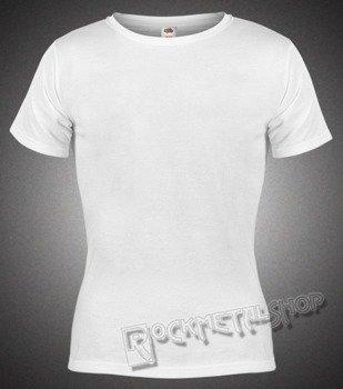bluzka damska FRUIT OF THE LOOM WHITE bez nadruku biała
