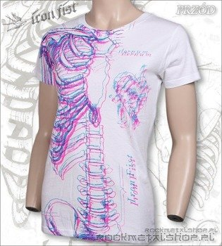 bluzka damska  IRON FIST - WISHBONE X-RAY  (WHITE)