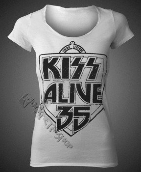 bluzka damska KISS - K 35 WHITE