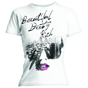 bluzka damska LADY GAGA - BEAUTIFUL DIRTY RICH