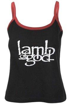 bluzka damska LAMB OF GOD na ramiączkach