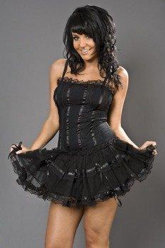 bluzka damska LINGERIE TOP (BLACK)