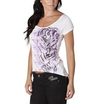 bluzka damska METAL MULISHA - LIBERATE biała