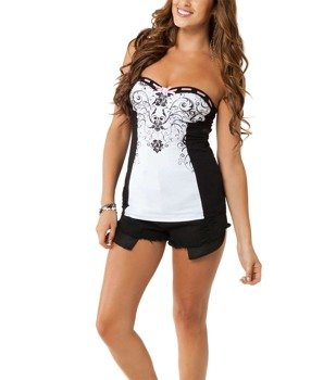 bluzka damska METAL MULISHA - SWEETNESS TUBE TOP