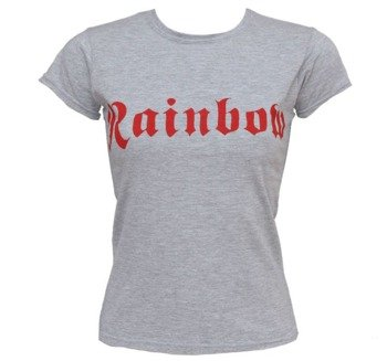 bluzka damska RAINBOW - RED LOGO