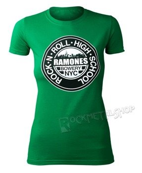 bluzka damska RAMONES - GREEN HIGH SCHOOL