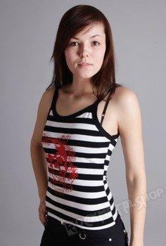 bluzka damska RED SKULL