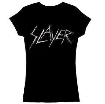 bluzka damska SLAYER - SCRATCHY LOGO