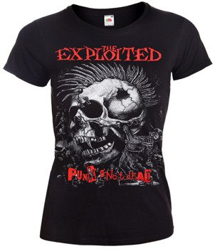 bluzka damska THE EXPLOITED - PUNKS NOT DEAD