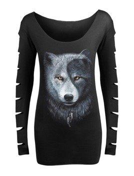 bluzka damska WOLF CHI długi rękaw