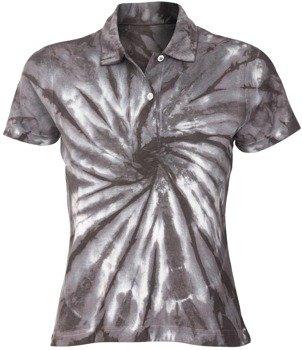 bluzka polo barwiona GREY MIX