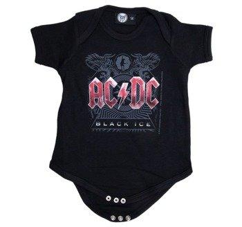 body dziecięce  AC/DC - BLACK ICE black