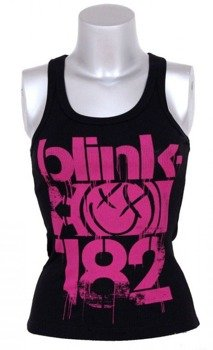 bokserka damska BLINK 182 - 3 BARS (BLACK)