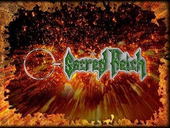 brelok SACRED REICH - LOGO