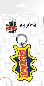 brelok THE BIG BANG THEORY - BAZINGA