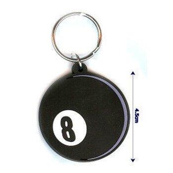 brelok gumowy 8BALL