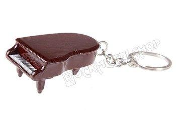 brelok / miniaturka FORTEPIAN bordo