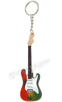 brelok / miniaturka gitary BOB MARLEY - MARIJUANA STYLE