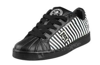 buty DRAVEN - DP DISASTER STRIPE black/white (MC1602)