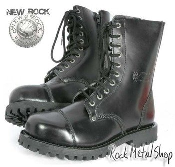 buty NEW ROCK -  ANTIC NEGRO GOOD YEAR WELT [MILI 1 - S1]