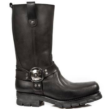 buty NEW ROCK ITALI NEGRO, MOTORCYCLE NEGRO M.7610-S1