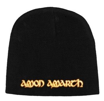 czapka AMON AMARTH - GOLD LOGO, zimowa
