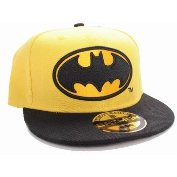 czapka BATMAN - BASIC YELLOW