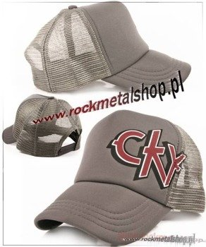 "czapka CKY ""Offset Grey Trucker"" Bioworld"