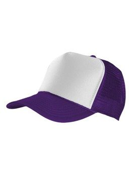 czapka MASTERDIS - BASEBALL CAP TRUCKER, purple/white