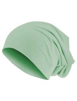 czapka MASTERDIS - PASTEL JERSEY BEANIE lt. mint