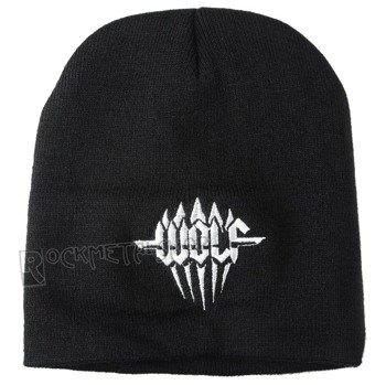 czapka WOLF - LOGO, zimowa