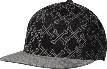 czapka z daszkiem ETNIES - CROSSBONES (BLACK) 09'