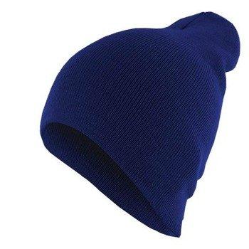 czapka zimowa MASTERDIS - BEANIE BASIC FLAP royal