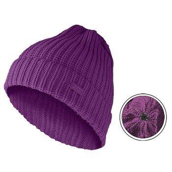 czapka zimowa MASTERDIS - KMA BEANIE BASIC FLIP purple