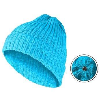czapka zimowa MASTERDIS - KMA BEANIE BASIC FLIP turquoise
