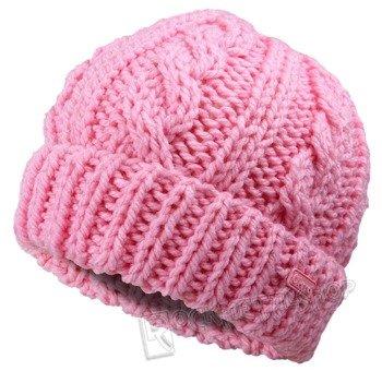 czapka zimowa MASTERDIS - KMA NEON PINK