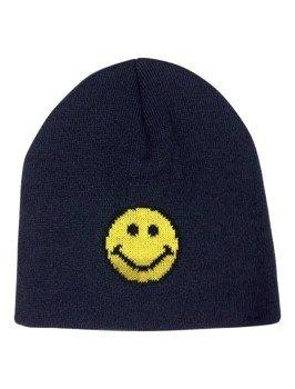 czapka zimowa MASTERDIS - SMILEY JACQUARD KNITnavy