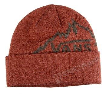 czapka zimowa VANS - RANGE RUSSET