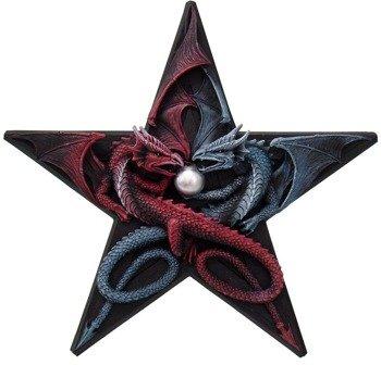 dekoracja DRAGON PENTAGRAM