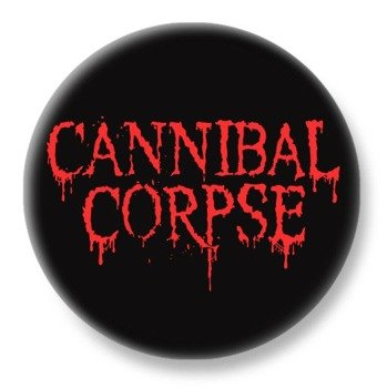 duży kapsel CANNIBAL CORPSE - NEW RED LOGO